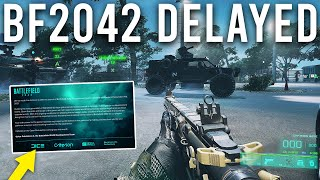 Battlefield 2042 Delayed.