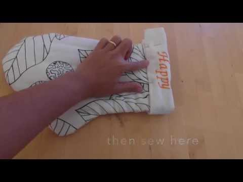 how to make your own Oven mittens