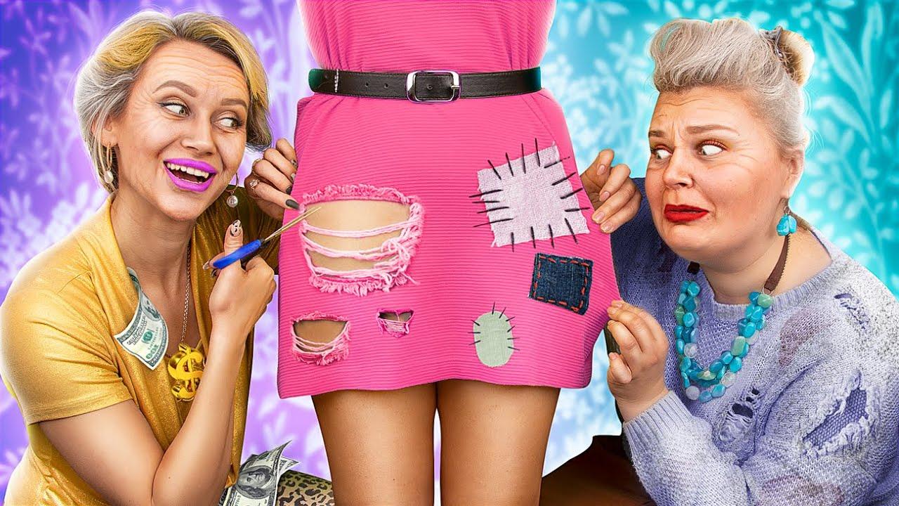 Rich Grandma vs Broke Grandma