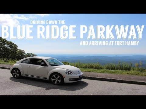 Arriving at Fort Hamby Campground | Driving The Blue Ridge Parkway | Wandering Around In Wonder