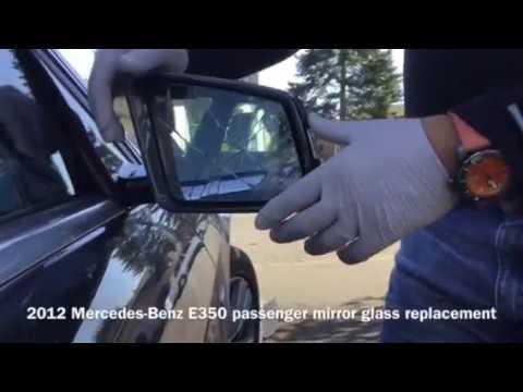 2012 Mercedes-Benz E350 mirror glass replacement
