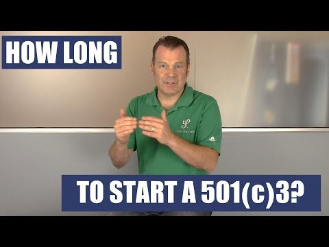 How Long Does it Take to Start a 501c3 Nonprofit? | Q&A #3 | CEO Christian LeFer