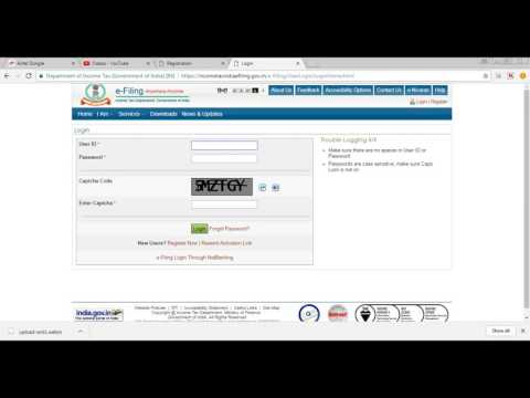 How to upload saved ITR 1 XML file to incometaxindiaefiling.gov.in website in tamil