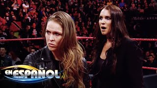 Ronda Rousey esta en Raw: En Espanol, 1 de Marzo