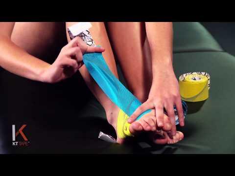 KT Tape: Top of Foot