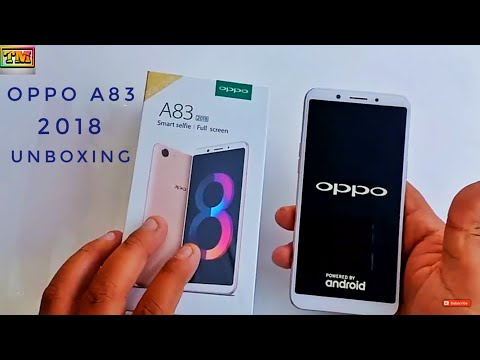 Oppo A83 2018 Unboxing & First Look