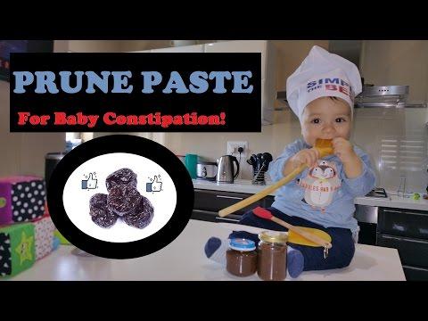 Constipated Baby - How to make Prune Paste - Mami Tai