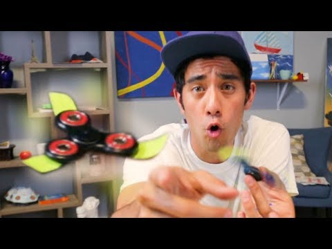 MAKE YOUR FIDGET SPINNER FLY AND LEVITATE TRICK