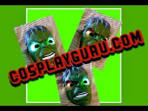Cosplay Guru Review Hulk Mask