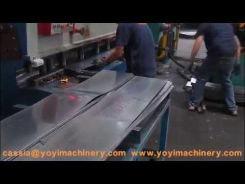 Metal door cutting machine, security door shearing machine