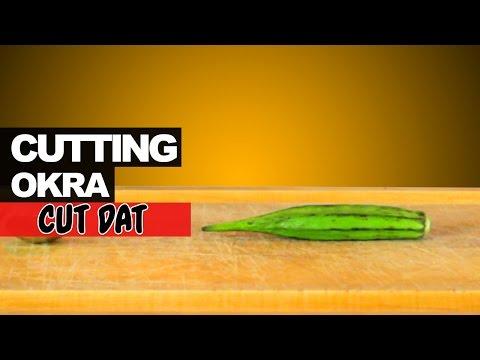 Cutting Okra