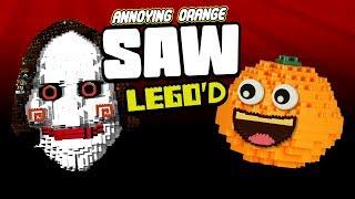 Annoying Orange Saw LEGO