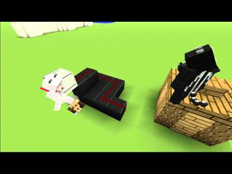 Minecraft PS3/Xbox - How To Make a Checkered Table