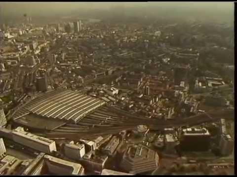 Aerials: Waterloo, Kings Cross and Stratford 1989