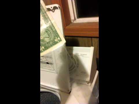 Free money on vending machine