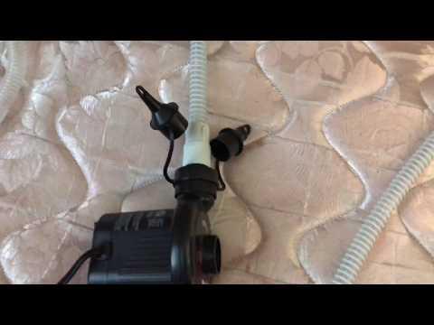CPAP Hose Drying Method