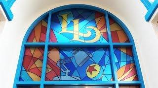 Lamplight Lounge FULL tour with secret room and outside bar in Pixar Pier at Disneyland Resort