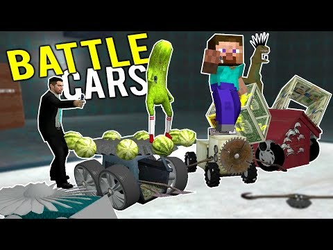 RC BATTLE CAR BUILDING CHALLENGE! Building the ULTIMATE Battlebot! - Gmod Garry's Mod Multiplayer