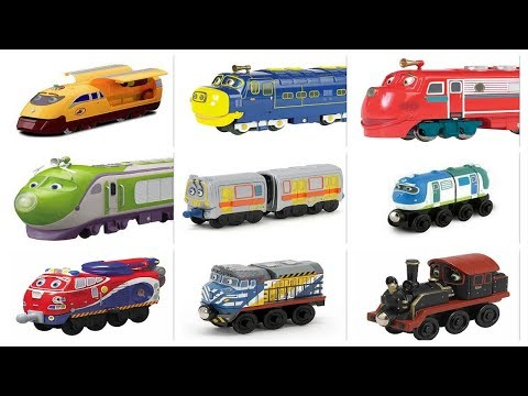 Chuggington Train Characters