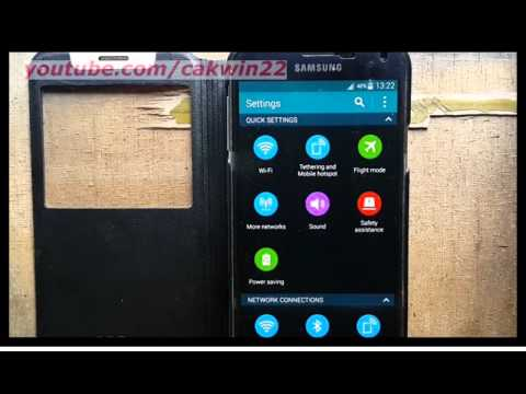 Samsung Galaxy S5 : How to set automatic date and time (Android Phone)