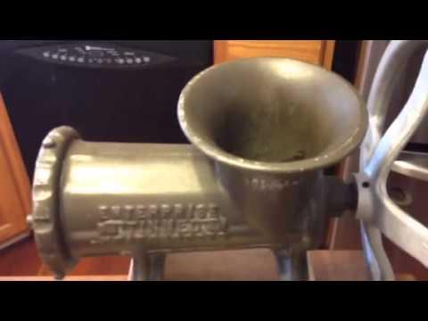 Motorized 32 meat grinder