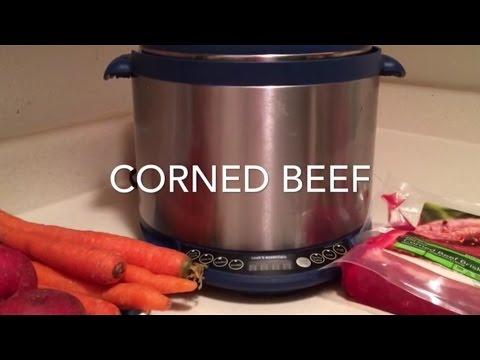 Pressure cooker corned beef