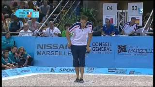 FRANCE # ESPAGNE championnat du monde de pétanque 2012 .mp4