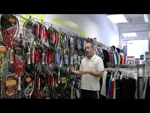 Choosing the Right Racquet by Dan Kester at I Play Tennis