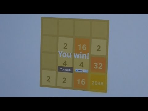 Howto beat the 2048 game with a few tactics