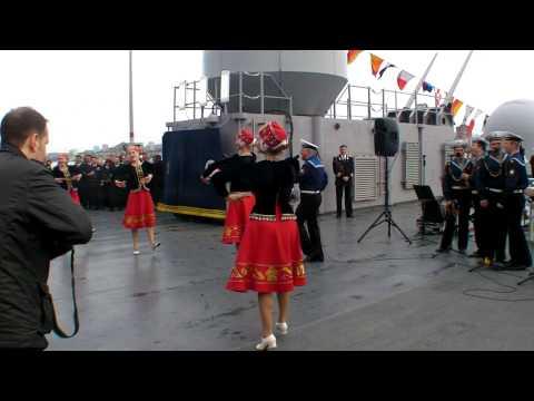 USS Blue Ridge Big Top in Vladivostok Russia.