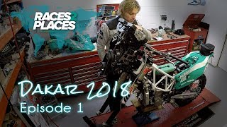 Races to Places - Dakar Rally 2018 - Episode 1 - ft. Lyndon Poskitt