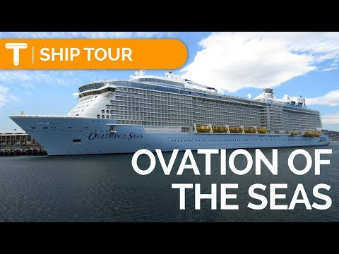 Ovation Of The Seas: FULL TOUR/REVIEW - Cabin/Food/Activities