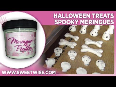 Halloween Treats Spooky Meringues by www SweetWise com