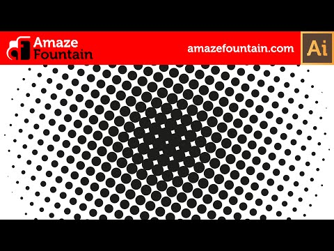 ILLUSTRATOR TUTORIAL: How To Create Halftone Effect (Illustrator Graphics Design Tutorial)