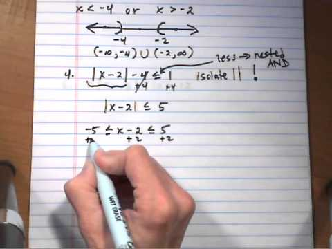absolute value inequality