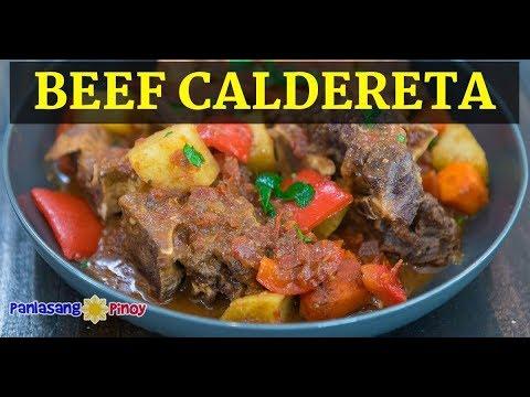 Instant Pot Pinoy Beef Caldereta