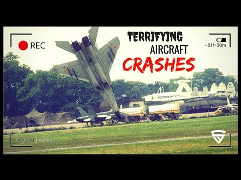 Terrifying Plane Crashes Ever Caught on Tape - Biggest Military Jets / Helicopter Accidents 2018