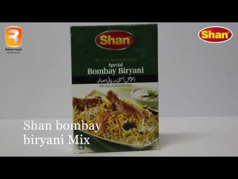 How To make Shan Bombay biryani
