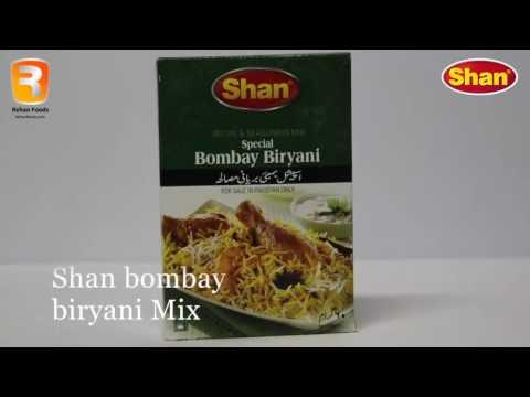 How To make Shan Bombay biryani