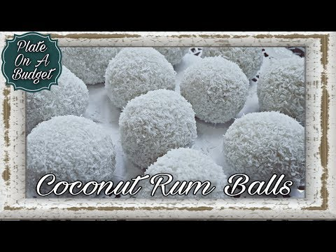 COCONUT RUM BALLS --SNOWBALLS WITH A PUNCH!!!