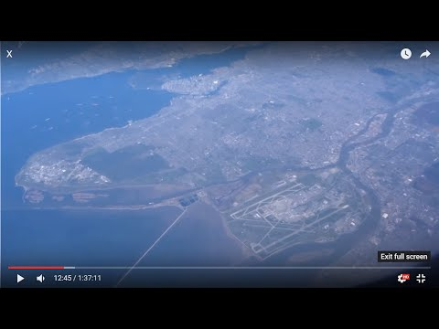 Vancouver, Haida Gwai, Kamchatka, Hokkaido from 30,000' on Dallas-Hong Kong flight AA137 2016-03-31