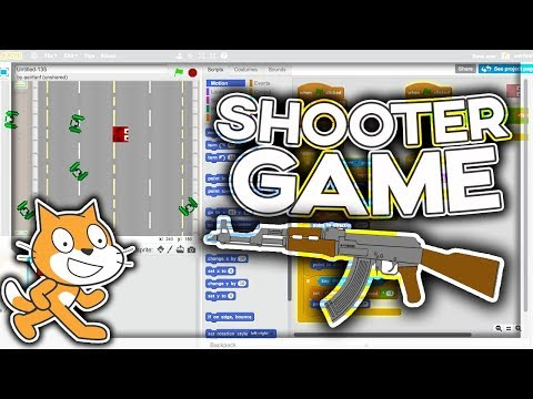 Scratch Tutorial: Advanced Shooter Game! Part 1