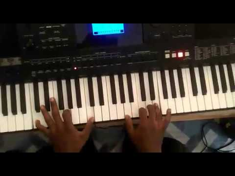 Piano gospel fills over songs (Played on key F )