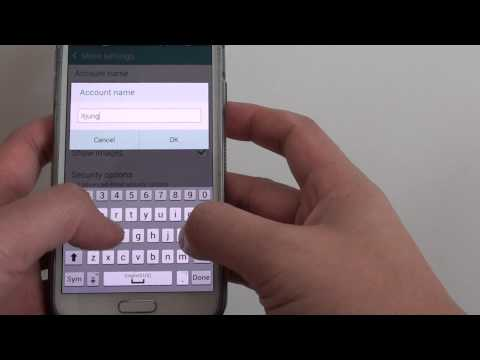 Samsung Galaxy S5: How to Change Email Account Name