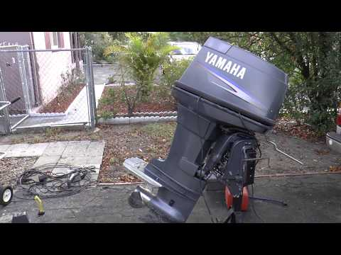 Fixing A Yamaha 90hp 2 Stroke Outboard Motor