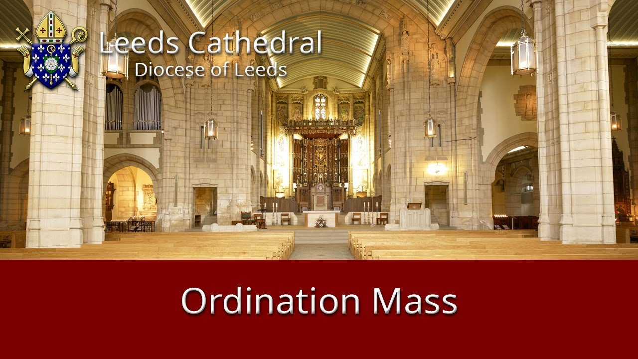 Leeds Cathedral Ordination to the Priesthood of Rev Christopher Butler