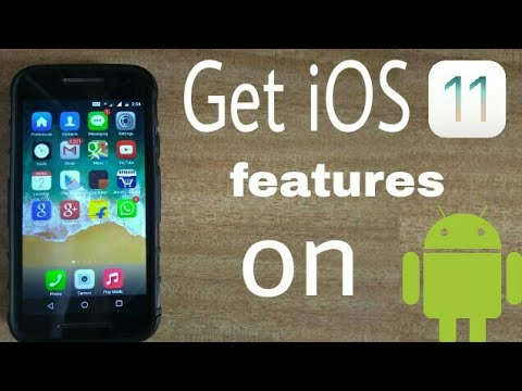 Get all the iOS 11 features on your Android smartphone [no root] ✓