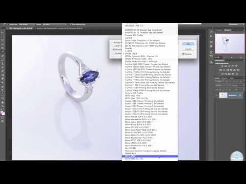 Cambiar Perfil de Color / Color Profile Change