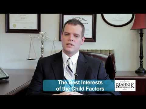 The Best Interests of the Child Factors | Minnesota Divorce & Family Law Lawyer