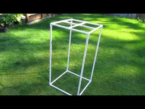 Building a Grow Tent with PVC (Part 1)